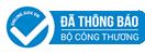 Logo website đã thông báo với Bộ Công Thương