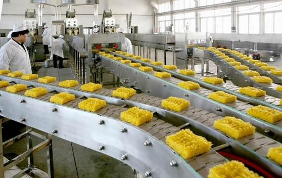 Apply metal detectors for food and seafood processing factory